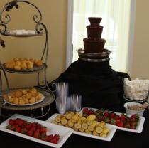 Chocolate Fountain and Dippers